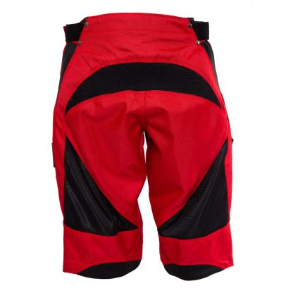 Short de descente rouge ShredXS